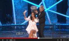 Kim Kardashian completes ALS Ice Bucket Challenge on 'Ellen'