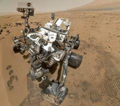 Mars rover recovering from computer glitch