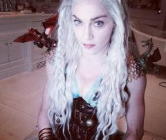 Madonna dons 'Game of Thrones' costume for Jewish holiday