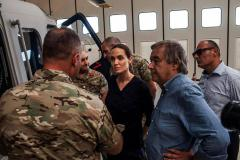 Angelina Jolie warns of Mediterranean migrant crisis
