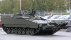 Norway receives first engineering variant of CV90 vehicle