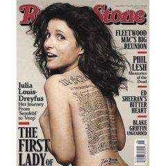 Julia Louis-Dreyfus' faux 'U.S. Constitution' tattoo sends history buffs into an uproar