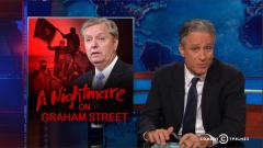 Lindsey Graham fears ISIS will come kill us all, in a not at all hysterical way