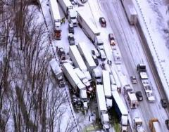 At least 3 dead in pileup on I-94 near Michigan City, Ind.