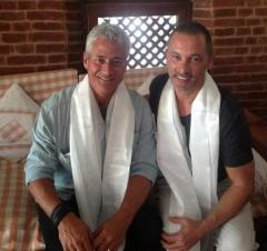 Greg Louganis and Johnny Chaillot get engaged