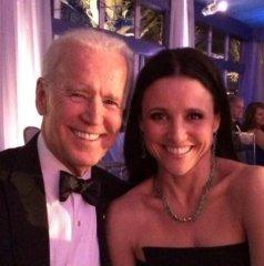 'Veep' star Julia Louis-Dreyfus seated next to actual Veep Joe Biden at state dinner