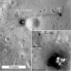 Photos prove Apollo moon flags still stand