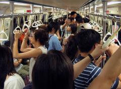 Woman risked arrest to pose nude on Taiwan train
