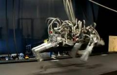 Robot 'cheetah' sets speed record