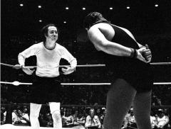 Jerry Lawler challenges Andy Kaufman to rematch -- if he's alive