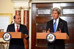 Secretary Kerry meets with Syrian opposition president