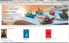 Amazon tests Kindle Unlimited, a Netflix for e-books