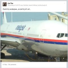 Malaysia Airlines Flight 17 was shot down