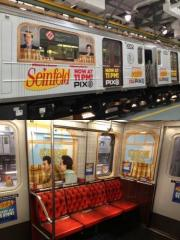 New York subway train gets 'Seinfeld' makeover