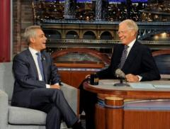 Rahm Emanuel says on 'Late Show' being Chicago mayor is best job
