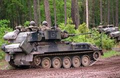 Britain sells surplus armored vehicles to Latvia