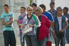 Support of Palestine is strong in South Africa