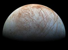 New photo of Jupiter's moon Europa show it in the highest resolution