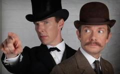 'Sherlock' photo shows Holmes and Watson in Victorian attire