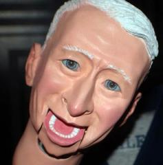 Anderson Cooper talks 'Mini Cooper' dummy