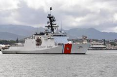 New National Security Cutter delivered to Coast Guard