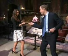 William, Kate duel on 'Harry Potter' film set