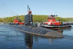 U.S. submarine visits Japan to promote reassurance