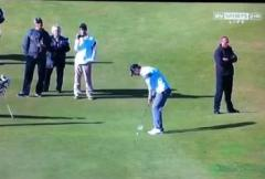 Record-long putt for Michael Phelps
