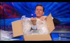 Stephen Colbert enters Amazon-Hachette battle