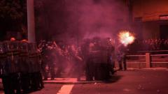 Maracana stadium scene of clashes between Rio police, protesters