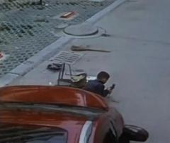 Watch a 6-year-old in China run over by an SUV walk away unharmed