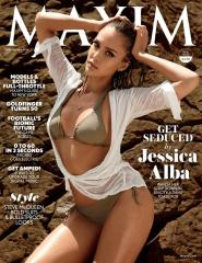 Jessica Alba covers Maxim in bikini, talks self-confidence