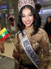 Burmese beauty queen stripped of crown for refusing to act as 'escort' or get implants
