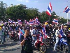 Thai protesters plan to shutodwn Bangkok on election day