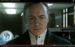 Kevin Spacey features in 'Call of Duty: Advanced Warfare' trailer