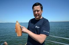 Shipwreck yields 200-year-old bottle of drinkable booze
