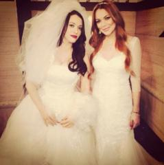 Lindsay Lohan was a 'train wreck' while filming '2 Broke Girls' cameo