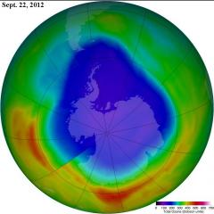 Antarctic ozone hole smallest in 20 years