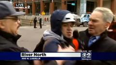 CBS reporter attacked by anti-Obama protester during live report