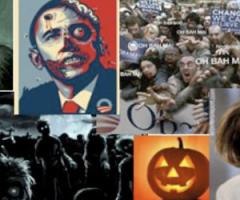 Official quits over Obama zombie e-mail