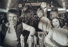 Chewbacca actor tweets retro collection of behind-the-scenes 'Star Wars' photos