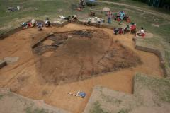 Remains of oldest European fort in inland U.S. uncovered