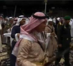 Prince Charles performs traditional sword dance in Saudi Arabia [VIDEO]