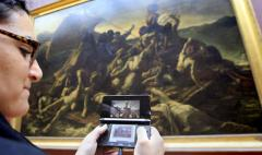 Game unit to guide Louvre visitors