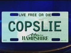 New Hampshire man can keep COPSLIE license plate, state court rules