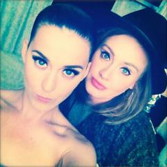 Katy Perry shares selfie with Adele after London show