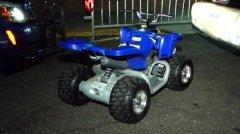 Six-year-old boy drives mini ATV on Bronx River Parkway