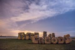 'Croods' monument erected at Stonehenge
