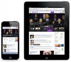 Yahoo! debuts re-designed home page