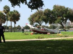 Plane crash in Vinoy Park narrowly misses St. Pete condos